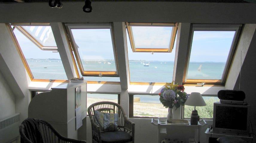 Duplex vue mer Sarzeau 5 personnes - Sarzeau - Lejlighed