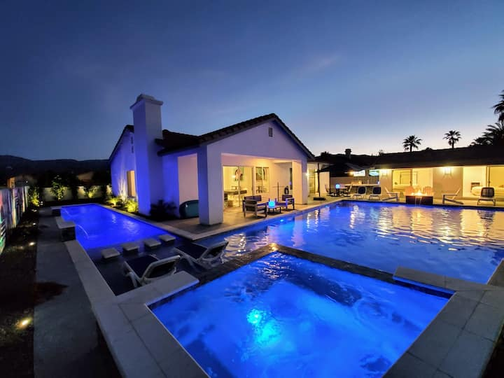 THE LAVENDER ESTATE - 6BR - 2 POOLS - Play And Lap