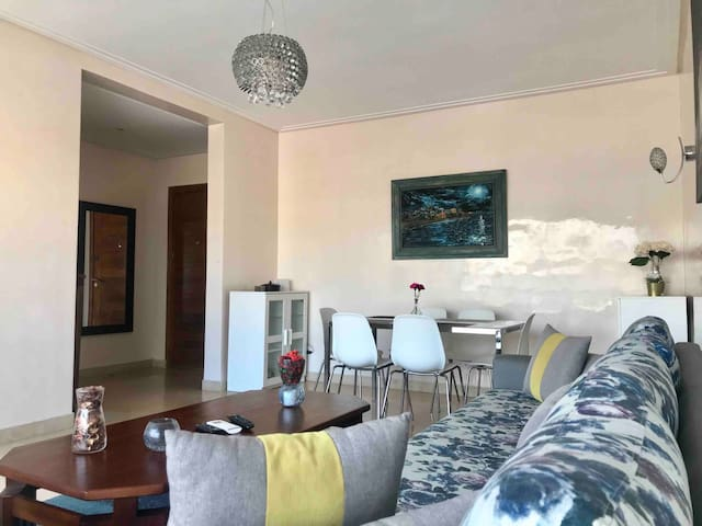 Modern, Well-Appointed Flat in Central Casablanca