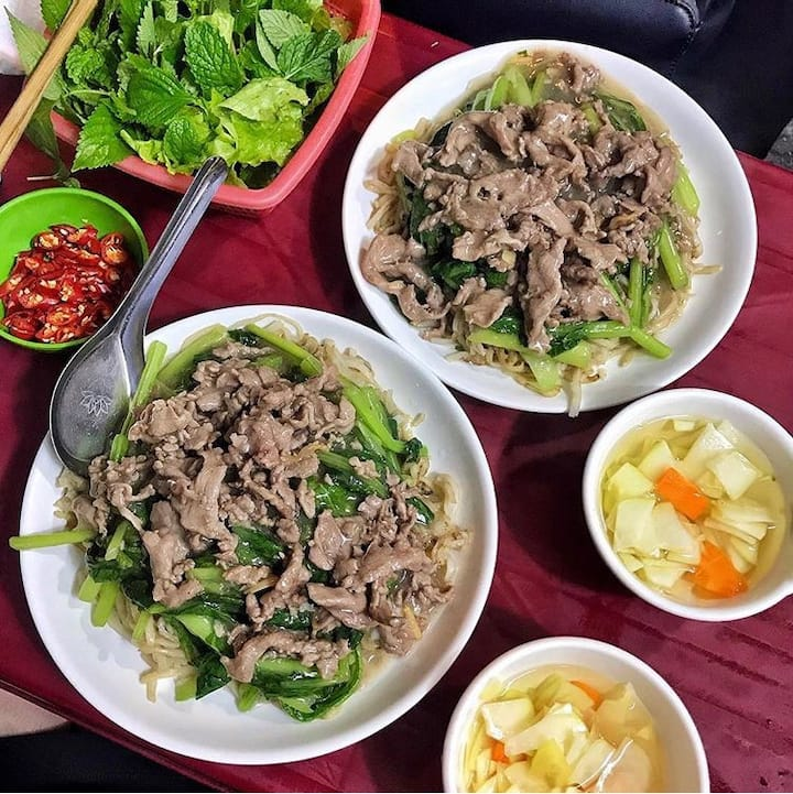 fried beef noodle