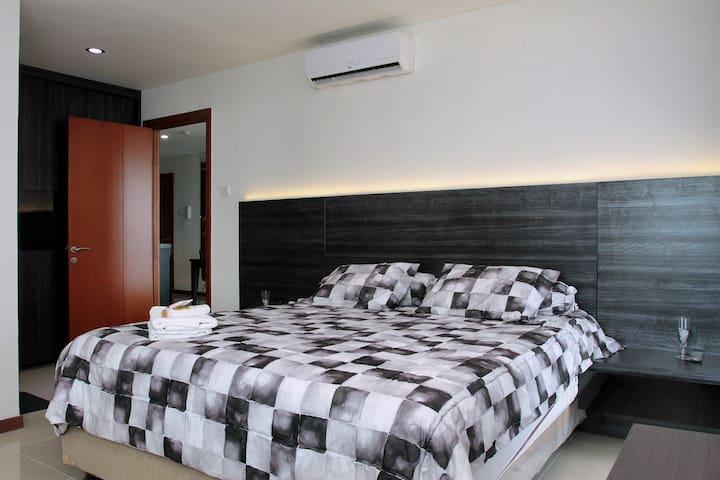 Seaside 2BR Condo Near Mall+Airport - Jakarta - Condominium