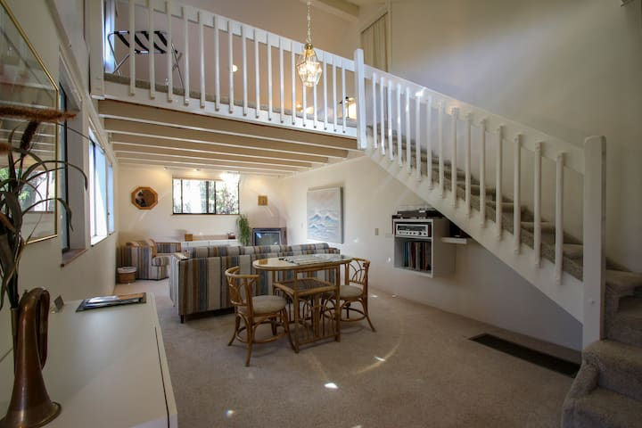 Cool Elegance - Unique, Spacious Loft House - Idyllwild-Pine Cove - Pension
