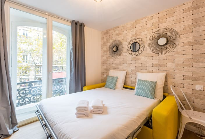 St Germain - Quartier Latin 1: cosy apt. for 3
