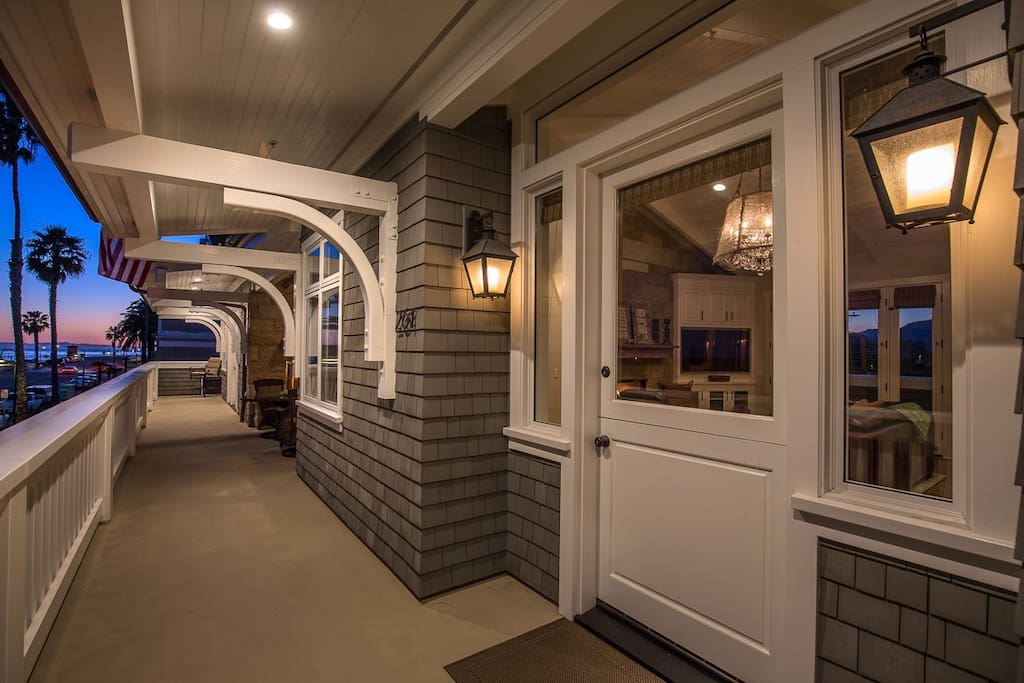 Private Entrance and Tons Of Open Deck Space