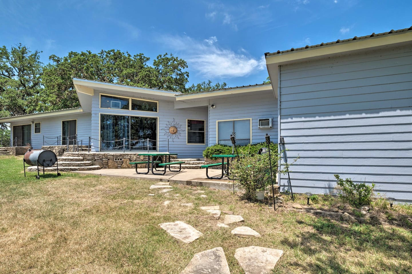 This Highland Lakes vacation rental is the ideal setting for your Texas retreat.
