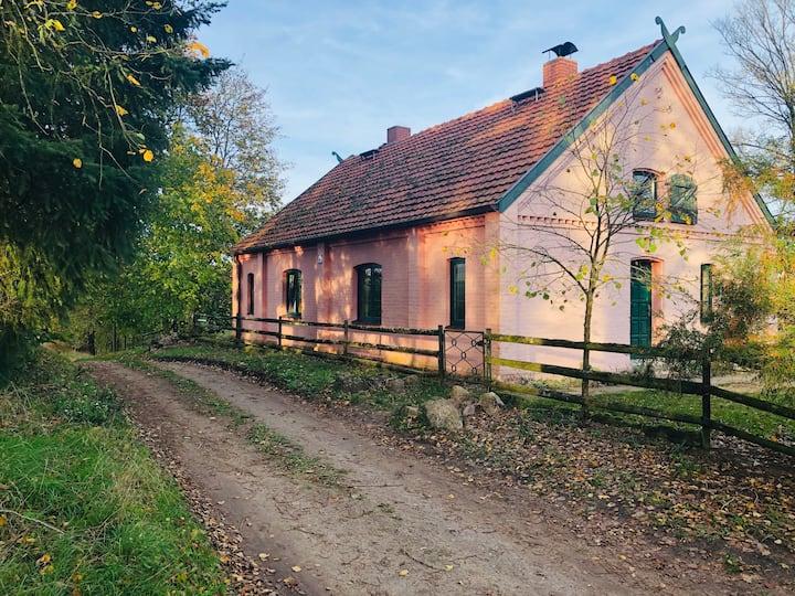 Fischerhaus: Alleinlage, Seenähe mit Boot - Whg. 2