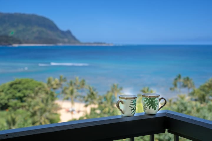 Spectacular Views of Hanalei Bay and Bali Hai