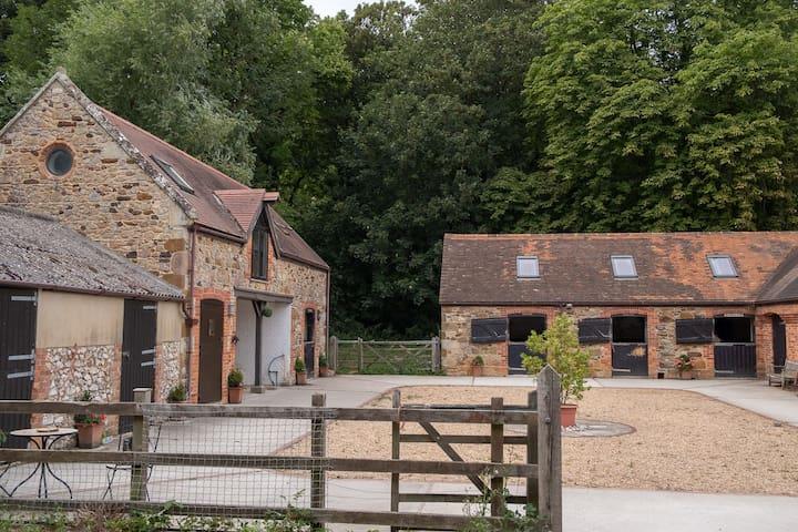 Hidden Away Converted Barn Loft in Shorwell