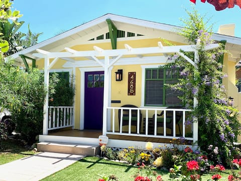 Your private 2 room guest suite is located within this charming 1918 Craftsman-style home