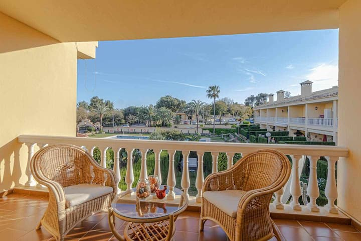 Luxurious townhouse in Torrequebrada + garden and pool
