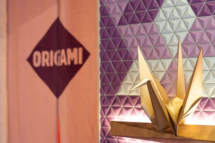 "MOSHI MOSHI ROOMS 2nd ""ORIGAMI"" in HARAJUKU"
