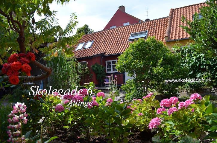 Privat Gårdhaveidyl midt i Allinge - Allinge - House