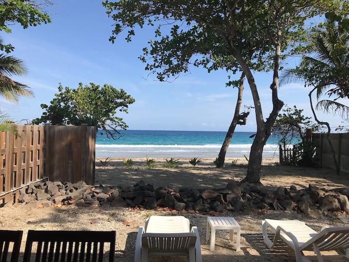 Villa Caraïbe sur la plage