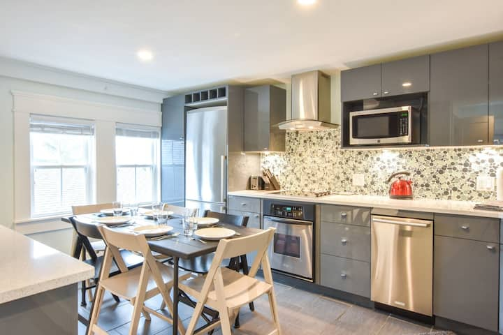 #129: Sleek sophistication in the heart of Provincetown, updated, modern living!
