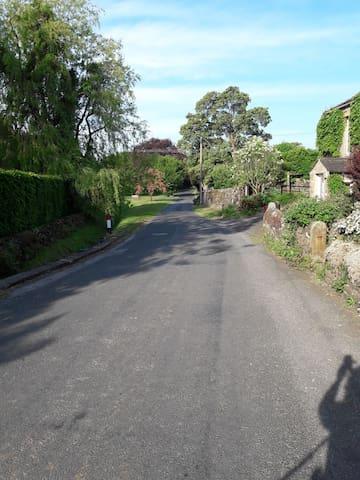 Settle Road - The village