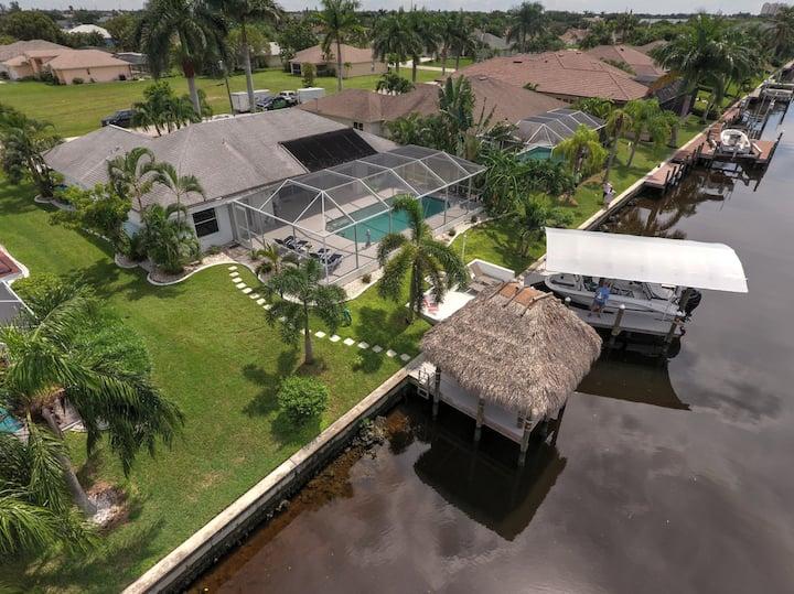 Villa Christina mit direktem Zugang zum Golf