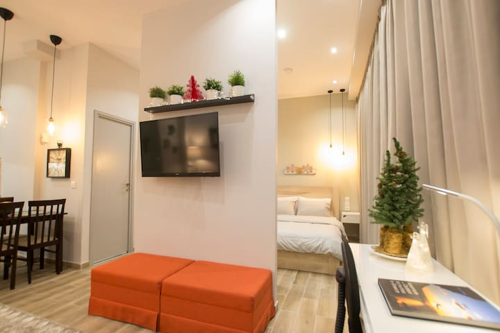 Warm apartment at the heart of Thessaloniki