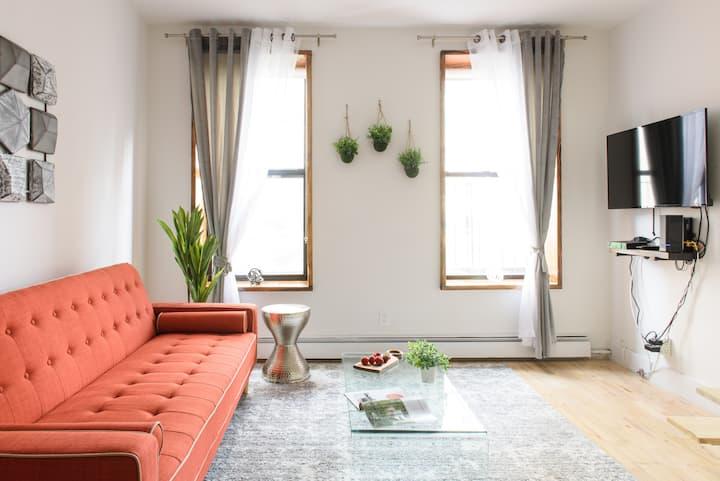 PH Duplex 1BR~Brand New~Private Terrace~W/D