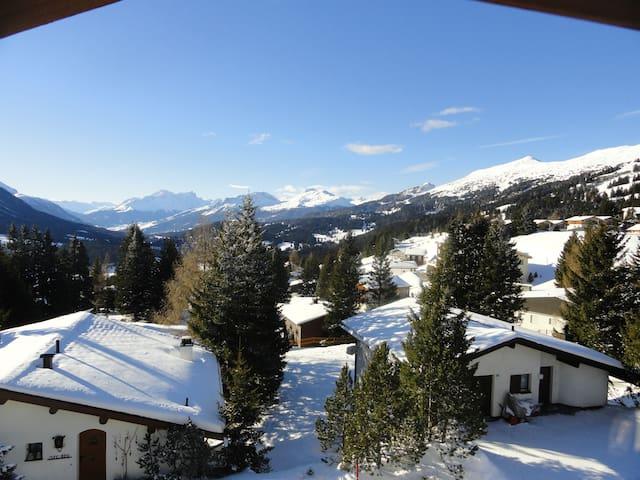 Panorama-Dachwohnung mitten im Ski/Wanderparadies