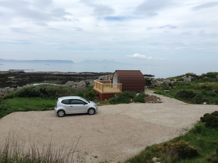 Camping Pod, Silversands, Arisaig