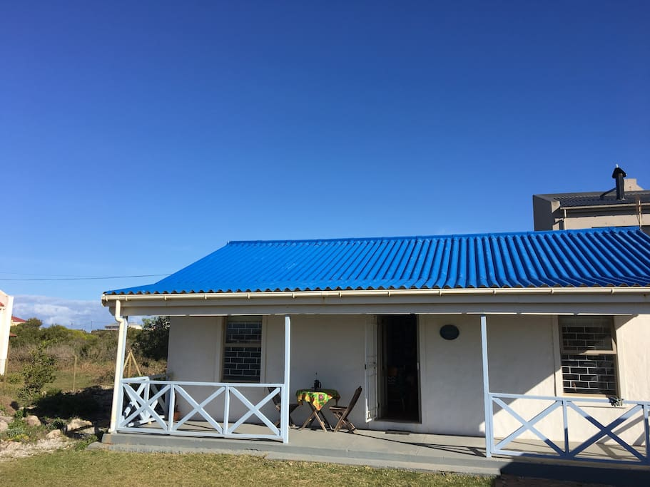 Cottage from the front