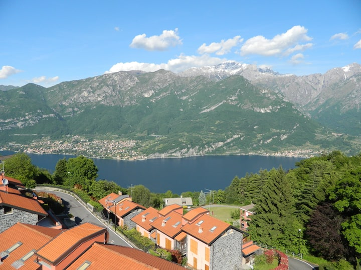 2BR Lake view Terrace 10 min from Bellagio WIFI