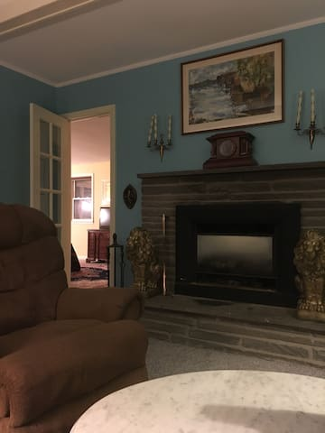 Entire ranch house with Fireplace. - Geneva - House