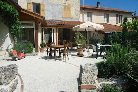 Maison de village 8 couchages - Saint-Marcellin - Huis