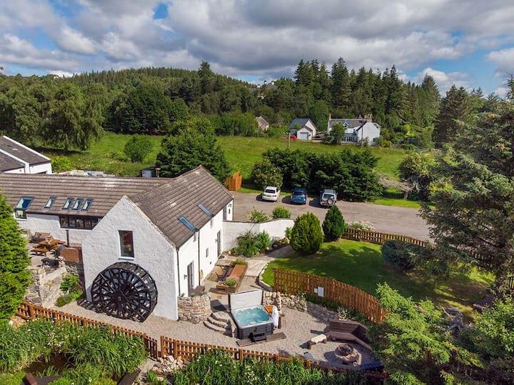 Craggan Mill, the ultimate Highland luxury retreat