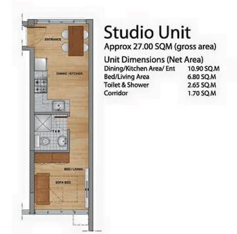 Primavera Condotel for Rent - Cagayan de Oro - Appartamento