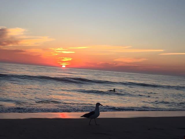 sunset Carlsbad beach 10/17/2017
