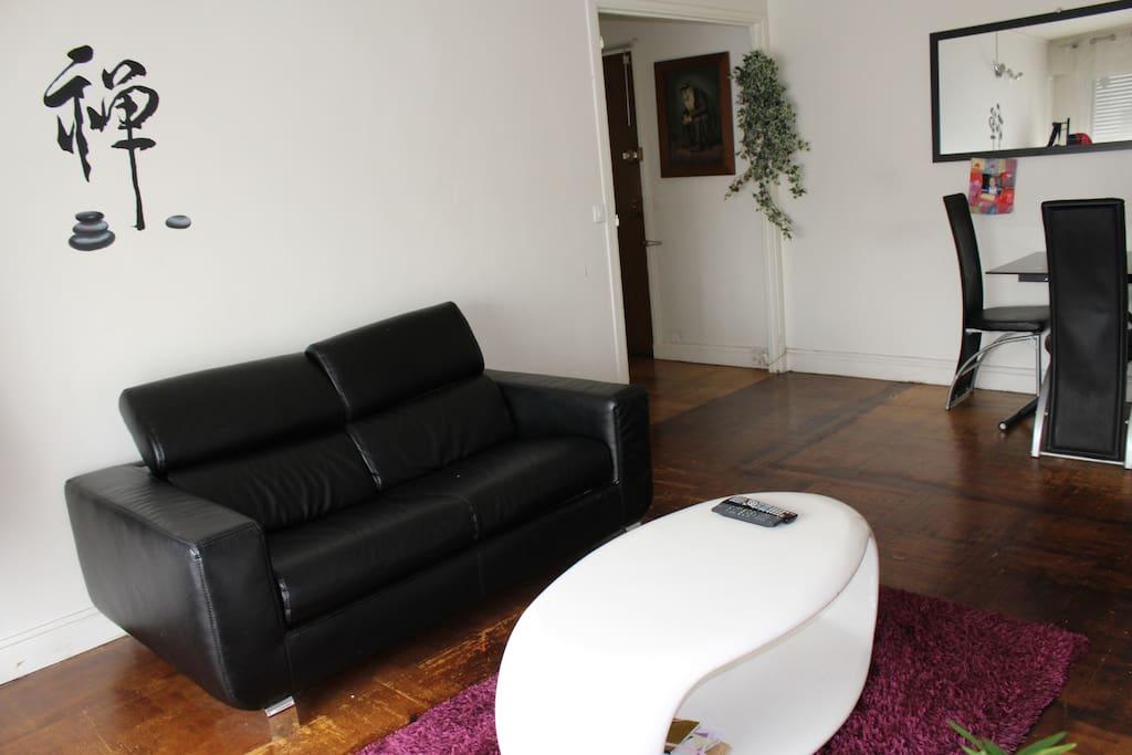 Chambre 1, canapé convertible