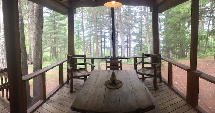 Hilltop Cabin at Sandy Point Resort near Minocqua
