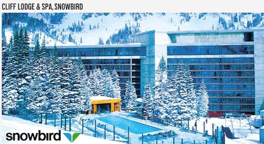 Snowbird Cliff Lodge––Sleeps 4: 4/10-4/23/20