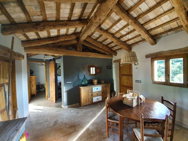 Casita rural con jardín a 2 min. de Solsona