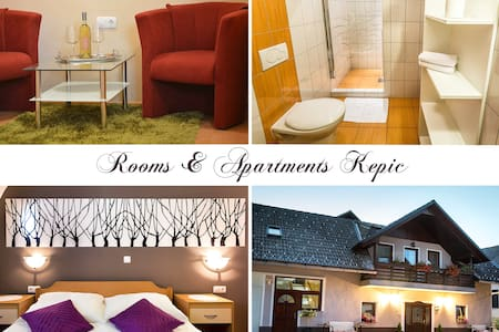 AIRPORT LJU near - double room - Zgornji Brnik - Bed & Breakfast