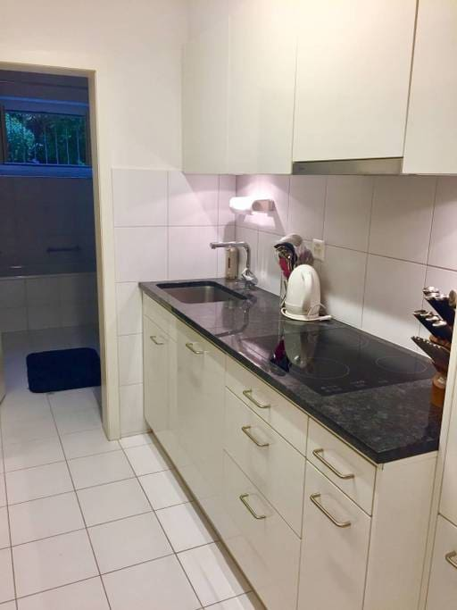 Fully equipped kitchen, with dishwasher
