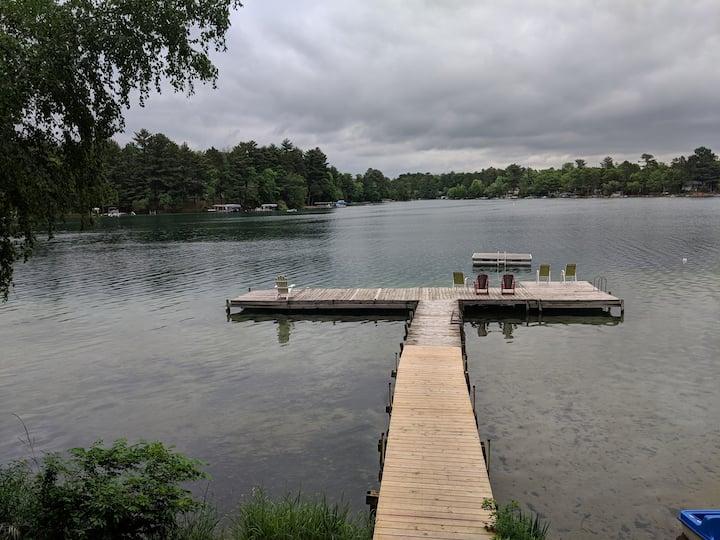 Waupaca Lakeside Cabin #2
