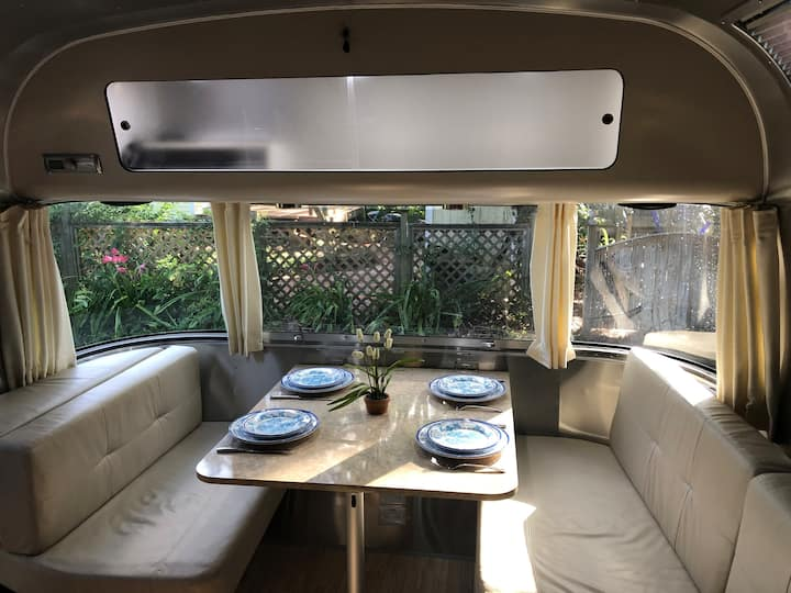Silver Belle Airstream on the Marsh + Hot Tub