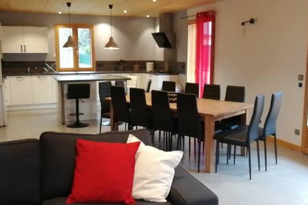 Allemont Maison neuve 230 m² + Garage 13 Personnes