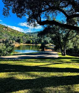 Romantic Retreat & Private Fishing near Julian