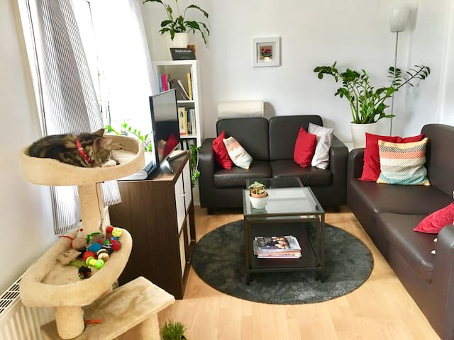 Private dbl room in trendy Hackney, 3 min to tube! - Londen - Appartement