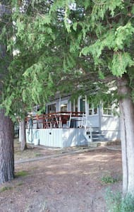 3 bedroom chalet on the side of Lake Temiscamingue - Saint-Bruno-de-Guigues - Almhütte