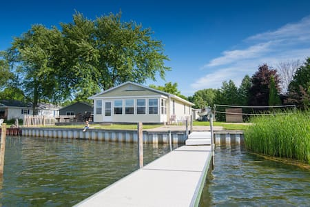 Family Home Located on Portage Lake