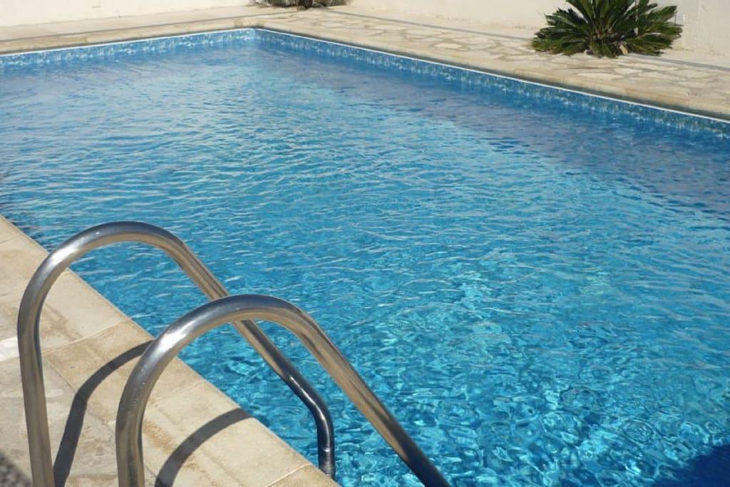 Votre piscine de 8 m x 4 m, au calme