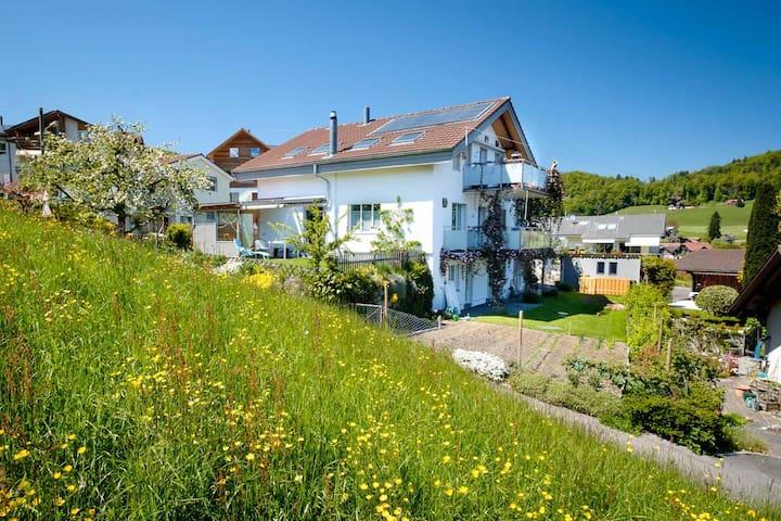Unser Haus und sein Garten.