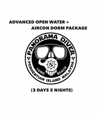 Advanced Open Water + Air-Con Dorm Package (3D 2N)