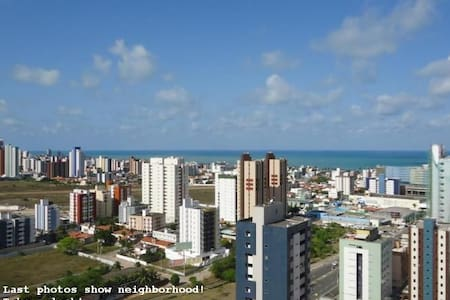 High class apt @ João Pessoa view to the sea 120m2