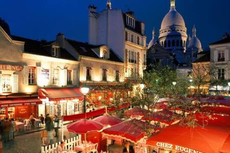 Studio - passage au calme / Montmartre - Abbesses - 巴黎 - 公寓