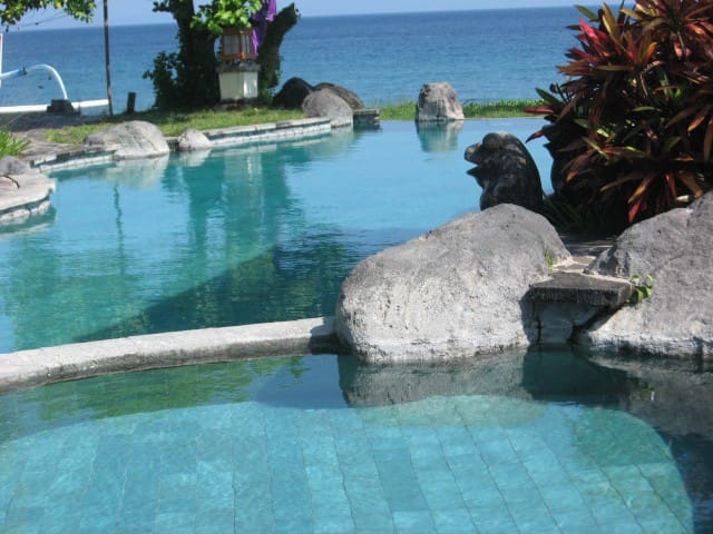 Abalone Resort Sea side 2 Raum Appartment - Manggis - Rumah Tamu